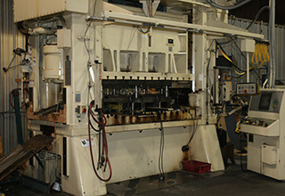 300 Ton Press - DANCO Precision Pressroom