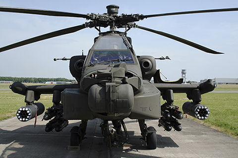 AH-64 Apache Helicopter - DANCO Precision - Industries Served