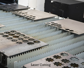 Laser Cutting of Small Metal Plates - DANCO Precision