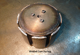 DANCO Core During Welding