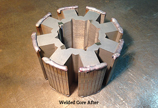 DANCO Core After Welding
